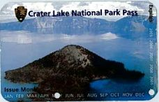 Crater Lake 12-Month Pass