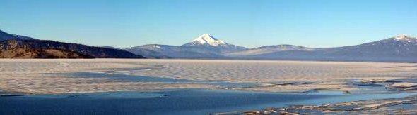 Mt. McLoughlin and Upper Klamath Lake