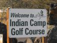 Indian Camp Golf Sign