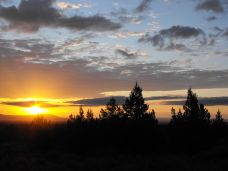Sunrise at the Lava Beds