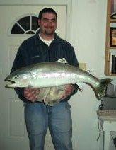 Mike Hiatt's Prize Rainbow Trout