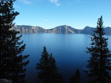 Dusk at Crater Lake