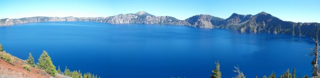 Crater Lake from Wizard Island