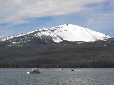 Fishing at Diamond Lake