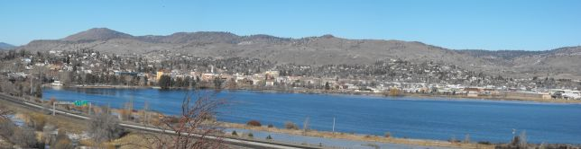 Klamath Falls and Lake Ewauna