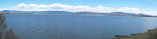 Upper Klamath Lake from Hwy 140