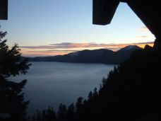 View of Crater Lake from the Lodge