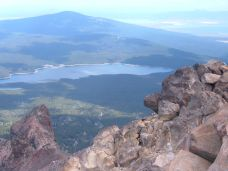 Fourmile Lake from Mt. McLoughlin