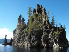 The Crater Lake boat tour